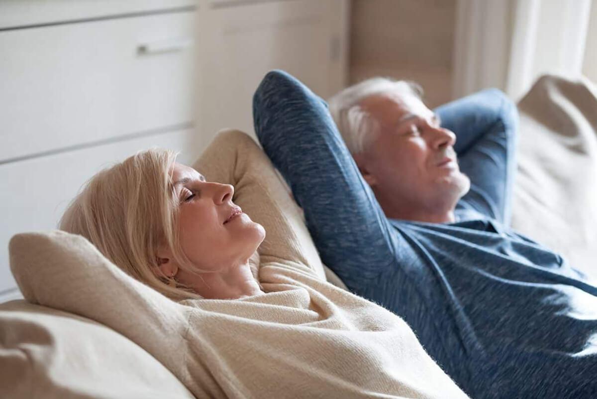 Peace of mind for elderly caregivers