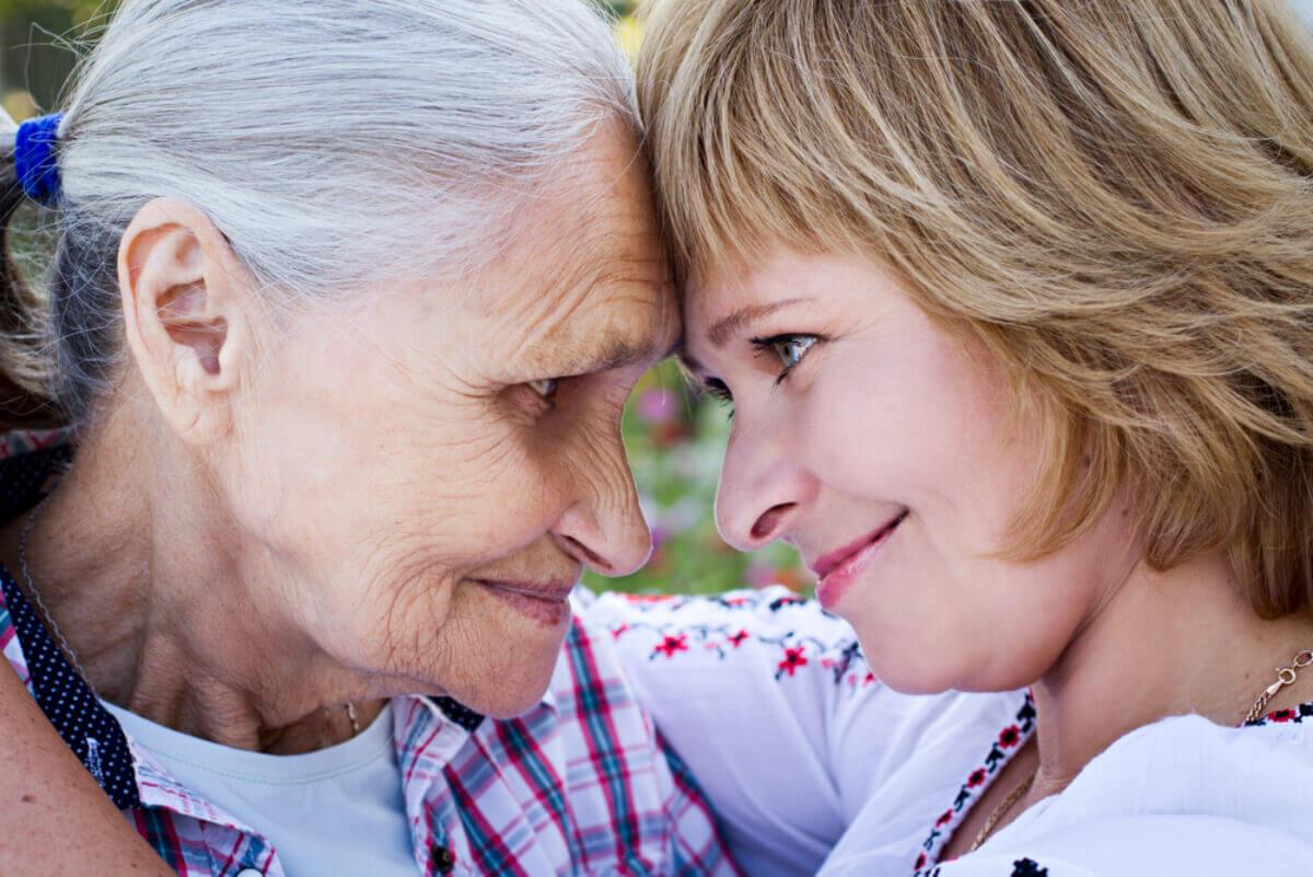 Elderly care even from far away.