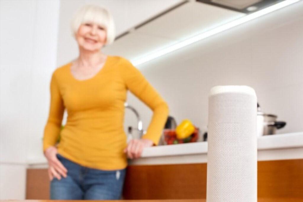 smart voice technology for Elders